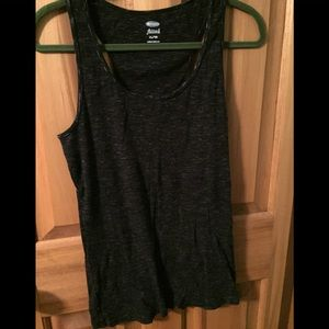 Black and gray xl tank top old navy used